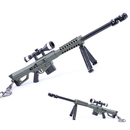 M82A1 Barrett Rifle de Francotirador Metal Seguridad el Modelo de Acci