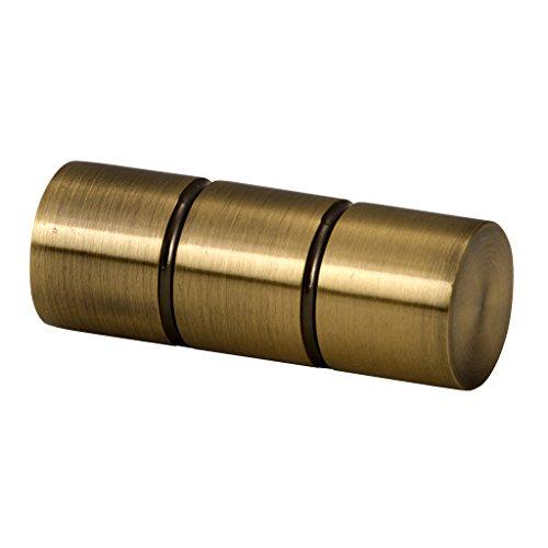 Riel Chyc 4468422 Support zirconium plafond 20/mm en Nickel//Mat