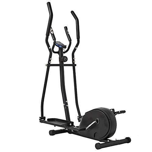 K-DD Ellipsentrainer Compact, Crosstrainer,Magnetbremssystem, 12 kg Schwungmasse, verstellbar Walking Stepper Ideal für Training Zuhause,Benutzergewicht 200kg
