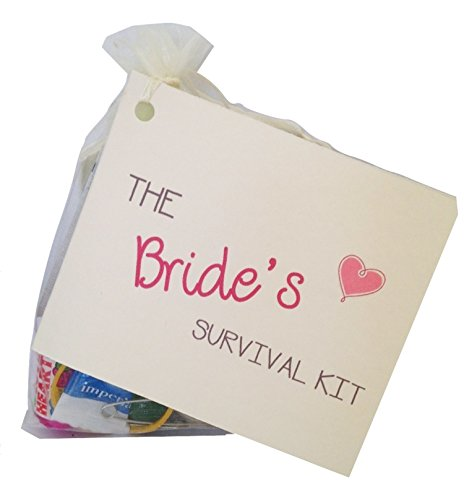 Bride to be Novelty Survival Kit. Wedding gift for the bride. Keepsake wedding favour