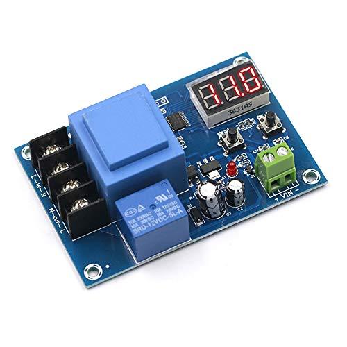 Módulo de alimentación Batería Digital Control de carga del módulo de control de CA 220V de litio de la batería de almacenamiento de control del cargador de tablero de interruptor de protección Módulo