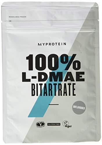 MyProtein 100{06afcd1d3e3a4966ae04c3b932fa0855a1c77d18ce35acc25b233503b98de769} L-DMAE Bitartrate 100g - geschmacklos