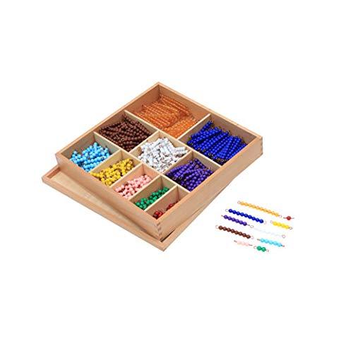 Bead Decanomial - Montessori Eductional Materials Learning Tools Preschool Toys