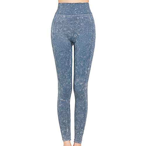 Leggings deportivos de cintura alta con control de abdomen para mujer, pantalones para correr, gimnasio, pantalones de yoga con bolsillos de entrenamiento de cintura alta pantalones con bolsil