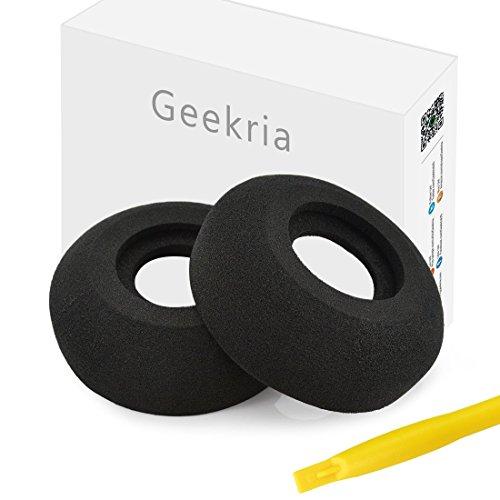 Geekria Almohadillas de Repuesto para Auriculares Grado PS1000, GS1000, SR80i, SR125i, SR225i, SR60, SR80, SR125, SR225, RS2i, RS1i, GS 1000i Headphones, Auriculares Almohadillas