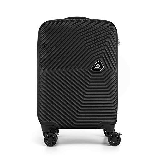 [カメレオン] スーツケース キャリーケース 公式 カミ サンロクマル Spinner 55/20 TSA 機内持ち込み可 保証付 34L 55 cm 2.8kg ストームブラック