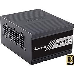 Corsair SF450 Alimentatore PC, Completamente Modulare, 80 Plus Gold, 450 W, EU