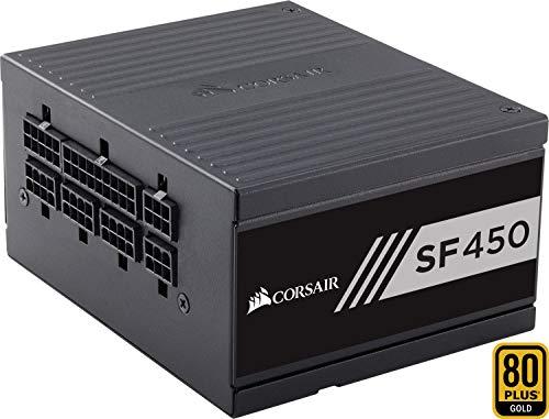 Corsair SF450 PC-Netzteil (Voll-Modulares Kabelmanagement, 80 Plus Gold, 450 Watt, EU)
