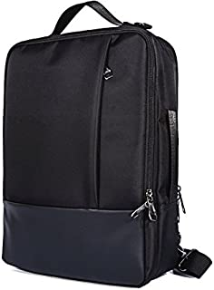 3 in 1 Oxford Travel Laptop Backpack Messenger Shoulder Bag Case 14-15.6 inch Compatible Surface Book 2 / HP ProBook 430 G5 / Envy x2 15 / EliteBook 840/1040 / ZBook x2 / Stream 14
