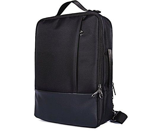 HYBRID 4in 1Rucksack Aktentasche messenger Tasche für Lenovo IdeaPad 320/320S 38,1cm/legion Y520/Y720/ThinkPad E575/E570/L570/T570/T560/Lenovo Flex 538,1cm 15,6in Laptop schwarz schwarz