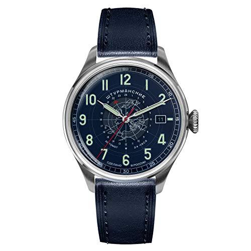 Sturmanskie Heritage Arctic 2432/6821352 - Reloj de pulsera para hombre (mecanismo mecánico, automático, 24 horas)