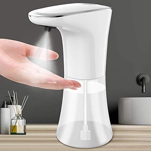 Desinfektionsspender Automatisch Sensor 400ml USB Alkoholsprühgerät Automatischer Infrarot Sensor Sprühspender Berührungslos 2 Einstellbare für Badezimmer, Küchen, Hotel, Restaurant/öffentlicher Ort