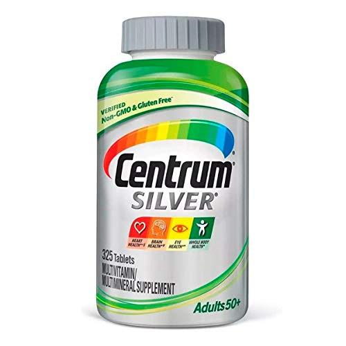 Centrum Silver Adults Unisex 50+ (325 Tabs) Multivitamínico
