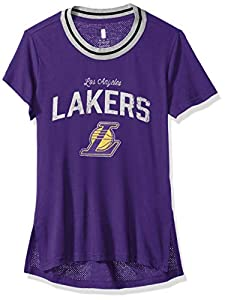Distressed Screen Print Burnout Mesh Wash Inside Out Officially Licensed by NBA