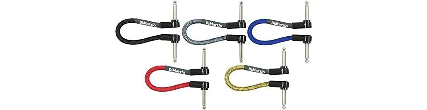 DiMarzio Jumper Cable Pedal Coupler Black 6 in.