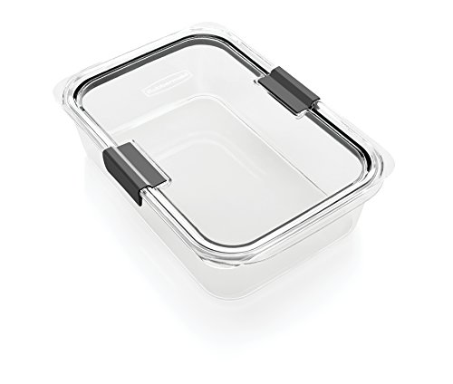 Rubbermaid 2024351 Brilliance Food Storage Container Large 96 Cup Clear 1991158