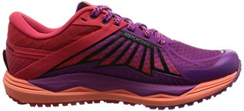 brooks Caldera, Zapatos para Correr Mujer, Multicolor (Hollyhock/Lollipop/Black), 36.5 EU