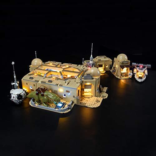 BRIKSMAX Kit de iluminación LED para Lego Star Wars Mos Eisley Cantina, complemento de Juego de Luces LED para Lego Set 75290 (no Incluye Modelo Lego)