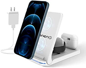 3-in-1 15W Wireless Charging Station for Apple iPhone/iWatch/Airpods