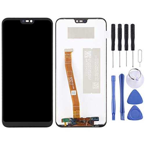 ELECTRONICS MobilePhone REPLACEMENT PART ZY LCD-scherm en Digitizer Volledige Vergadering for Huawei Nova 3e / P20 Lite (Color : Color1)