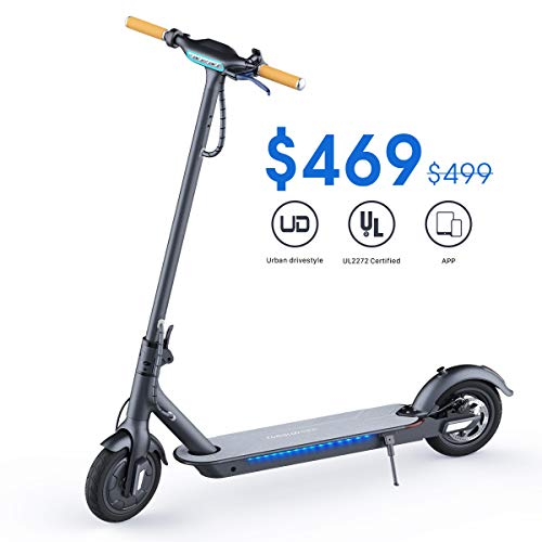 Our #8 Pick is the TOMOLOO Electric Scooter
