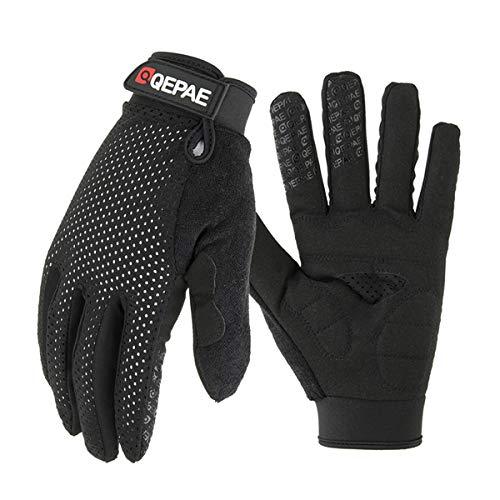 Vollfinger Motorrad Winterhandschuhe Bildschirm Touch Guantes Moto Racing/Skifahren/Klettern/Radfahren/Reiten Sport Motocross Handschuh-O-QZ1B-3-M