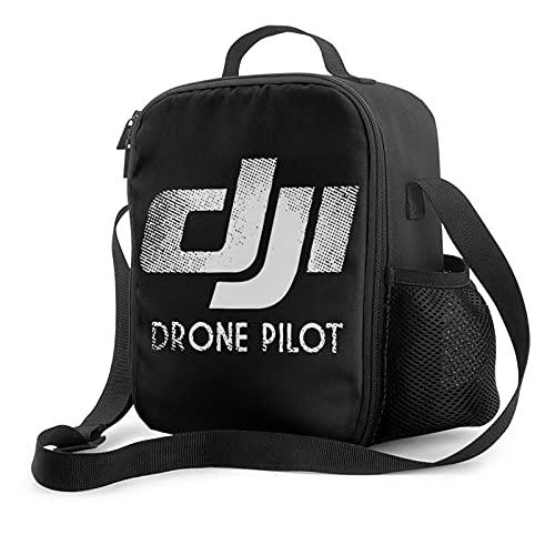 Borse frigo Dji Drone Phantom Pilot Borsa Da Pranzo Refrigerata Isolata Portatile Unisex Borsa Da Pranzo Da Picnic Per Gite Scolastiche Da Uomo E Da Donna