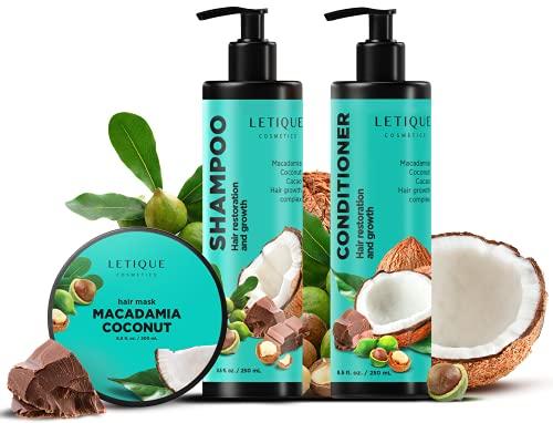 Letique cosmetics, MAСADAMIA-COCONUT DAILY CARE; 250ml, 250ml, 250ml