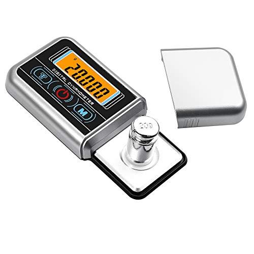 Neoteck Tester Scala Forza di Stilo per Giradischi Capacità 100g Touch Screen LCD Bilancia Precisa 0.005g Retroilluminazione Blu per Braccio Giradischi Fono Cassetta Musicale con Vassoio