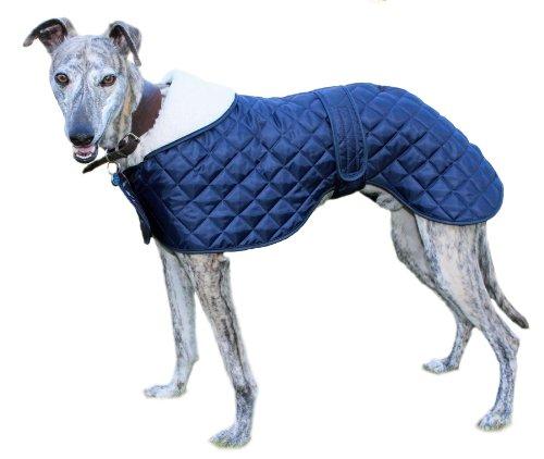 Cosipet Greyhound Anorak, Jacke für Hunde, blau