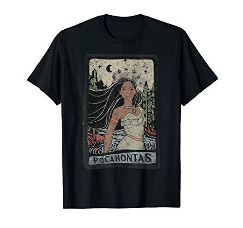 Disney Pocahontas Nature Portrait Poster T-Shirt