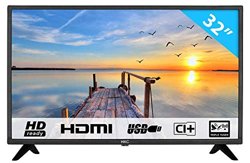 HKC 32F1D LED TV (32 Pouces HD TV), CI+, HDMI+USB, Triple...