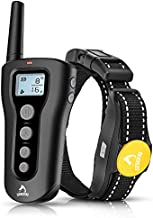 PATPET Dog Shock Collar with Remote - 1000' Range Shock Collar for Dogs Ipx7 Waterproof Dog Training Collar Fast Training Effect for Small Medium Large Dogs