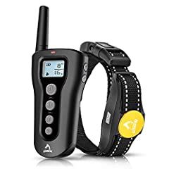 """Safe effective humane training modes: this dog shock collar with remote offer customized static shock (1-16) levels (press and hold the 1/2 button for about 5 seconds to start the 'shock' mode)and vibration(1-8) levels, as well as a standard """"Tone"""" m..."""