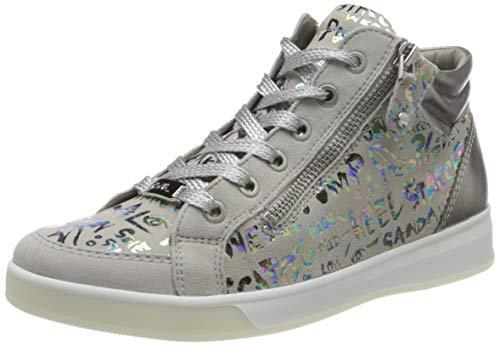 ara Damen ROM Hohe Sneaker, Grau (Sasso-Multi, Zinn 07), 39 EU(6 UK)