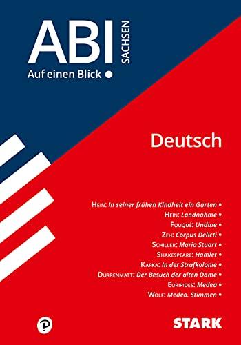 STARK Abi - auf einen Blick! Deutsch Sachsen (STARK-Verlag - Auf einen Blick!)