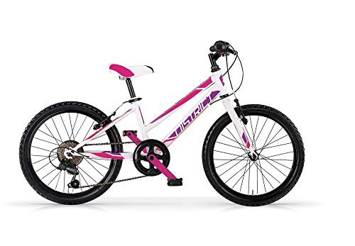 MBM District 20 MTB D Acc Revo 6 V - Bicicleta para Mujer, Color Blanco A28, XX