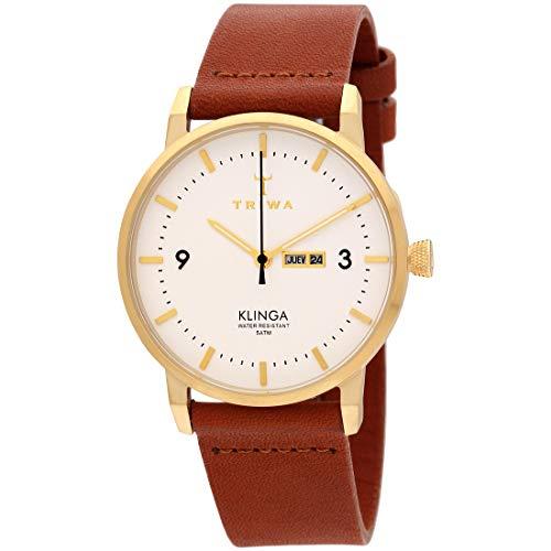 Triwa Unisex Erwachsene Leder Uhrenarmband KLST103-CL010213