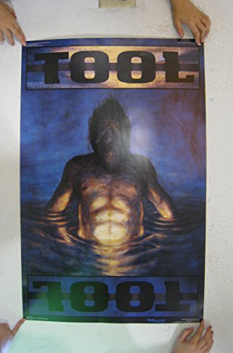 Tool Poster Man Rising Out Of Water