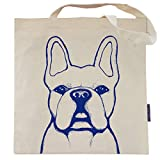 French Bulldog Tote Bag - Benny the Frenchie - by Pet Studio Art