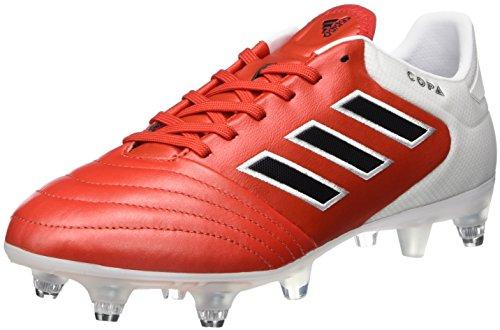 adidas Copa 17.2 SG, Zapatillas de Fútbol para Hombre, Marrón Rojo Negbas Ftwbla, 39 1/3 EU