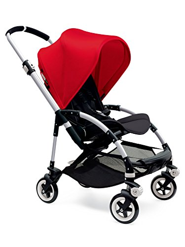 Best Review Of Bugaboo Bee3 Stroller - Red/Black/Aluminum(Stroller not included)
