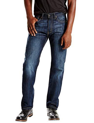 Levi's Jeans da Uomo 505 Regular Fit Scarpa. 31W x 30L