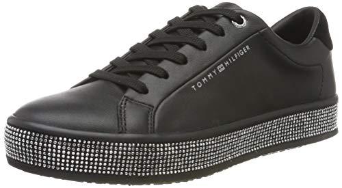 Tommy Hilfiger Damen Jupiter 18a1 Sneaker, Schwarz (Black Bds), 39 EU