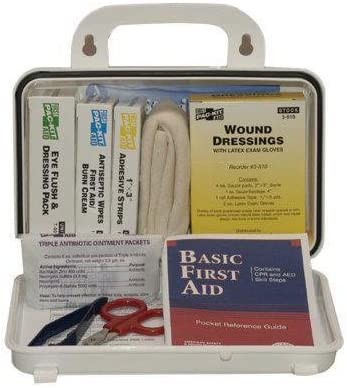 579-6410 - 10 Person ANSI Plus Kit Plast First Cheap super special price Weatherproof OFFicial store Aid