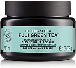 The Body Shop, Fuji Tea Cleansing Hair Scrub,240Ml,Green