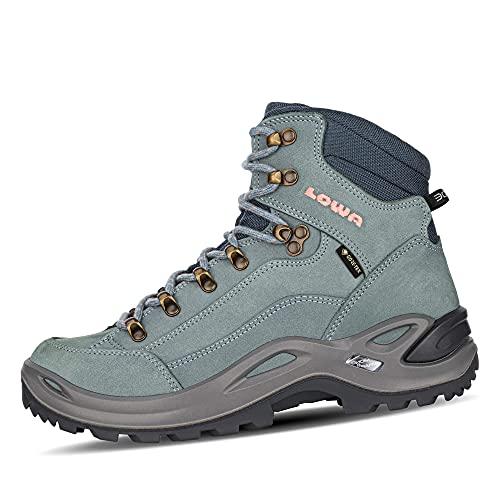 Lowa Renegade GTX MID Ws Damen Wanderstiefel Trekkingschuh Outdoor Goretex 320945, Schuhgröße:41 EU