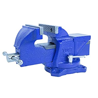 Yost Tools BV-6 Bench Vise, 6 , Blue