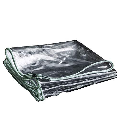 Lona Transparente Impermeable Resistente Resistente Espesar Lona Coche Cubierta de la Lluvia...
