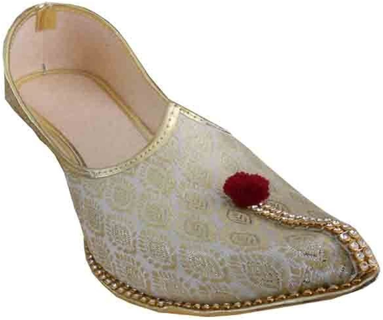 Kalra Creations Mojari Flip-Flops Groom Khussa Handmade Punjabi Men shoes